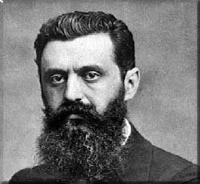 Theodor Herzl (1860-1904) Viennese Journalist and Founder of Modern Political Zionism.